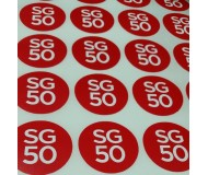 09 SG50 STICKERS