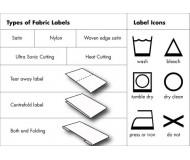 Textile Label - Fabric